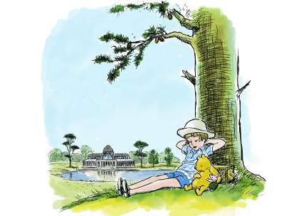 Ilustración Winnie The Pooh.