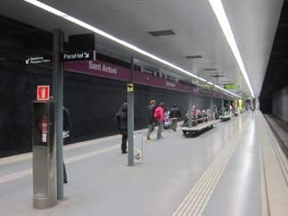 Metro de Barcelona.