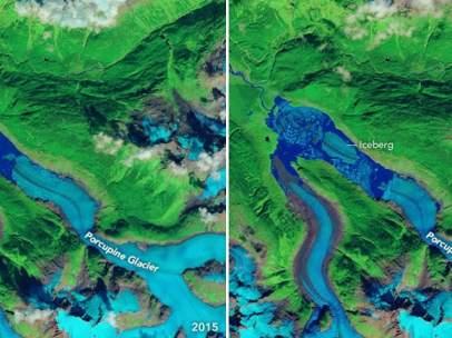 Glaciar Porcupine
