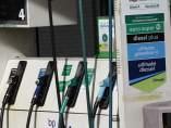 Imagen de una gasolinera ante la posible subida de precios