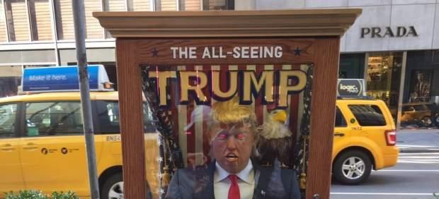 Máquina de adivinación de Donald Trump en Nueva York