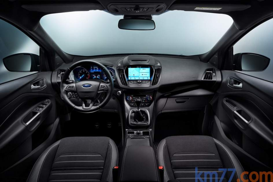 Aspecto interior del Ford Kuga