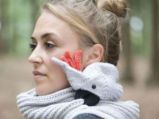 Unas bufandas que muerden