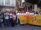 Concentración contra el CETA y el TTIP en Palma