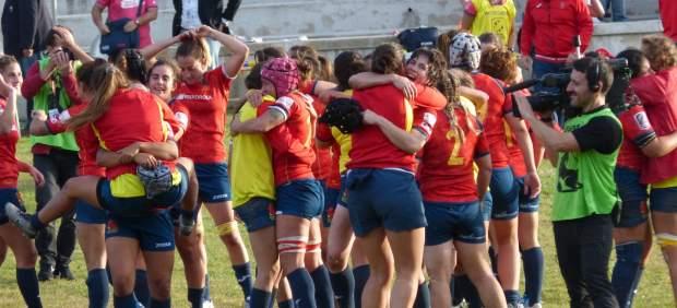 Selección de rugby femenino