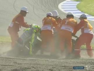 Caída de Rossi