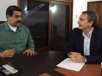 Maduro y Zapatero