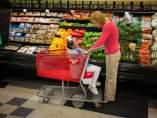 Carro de la compra para personas con necesidades especiales.