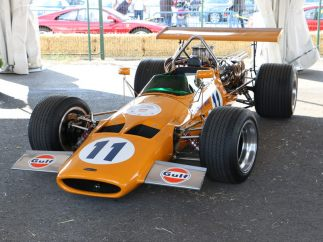 McLaren M10 A de 1969 y chasis 319-07
