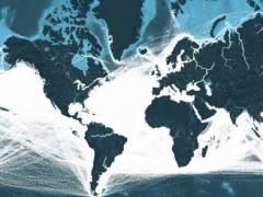 Captura de la web shipmap.org