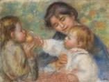 Pierre-Auguste Renoir, Niño con manzana, hacia 1895-1896