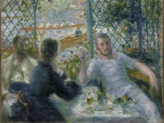 Pierre-Auguste Renoir, El amuerzo de los remeros, 1875