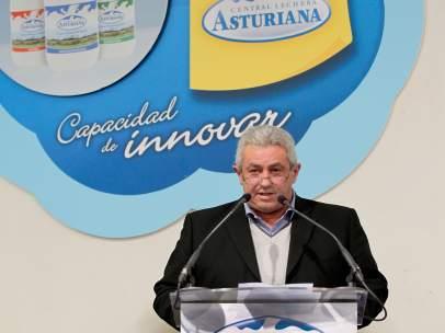 ¡Bertino Velasco, Presidente Central Lechera Asturiana.