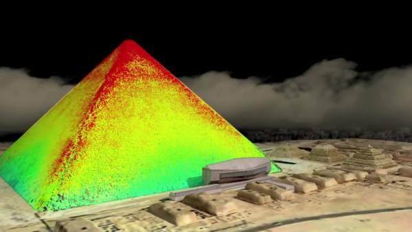 Termografía de la Gran Pirámide