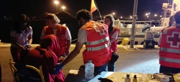 Onze immigrants d'origen libi són rescatats davant de la costa d'Elx