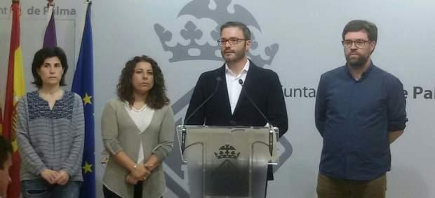 José Hila,en rueda de prensa
