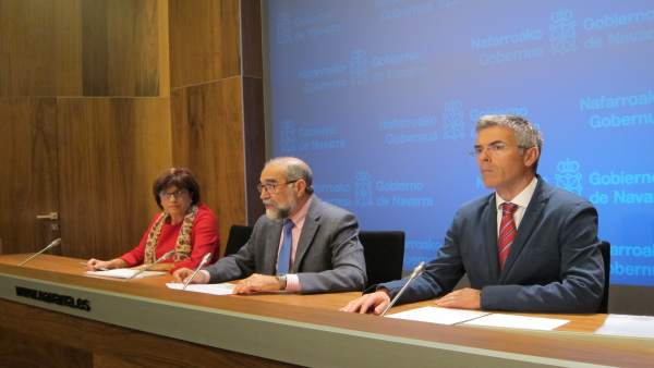 Nieves Ascunce, Fernando Domínguez y Jon Ariceta
