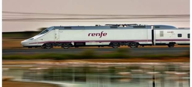 Un tren Alvia de Renfe.
