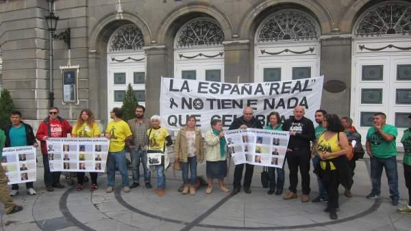 Presentación de las Marchas de la Dignidad en el Campoamor.