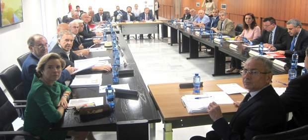 Ródenas y Cachá en la Junta de Gobierno de la CHS