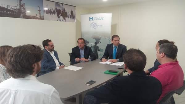 Incoporación de cinco firmas al Vivero de Empresas de Diputación
