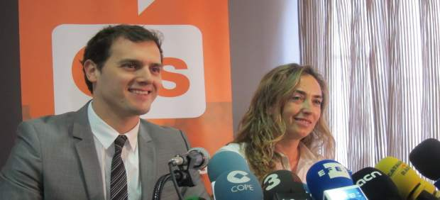 Albert Rivera y Carolina Punset.