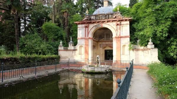 Estanque del Jardín del León.