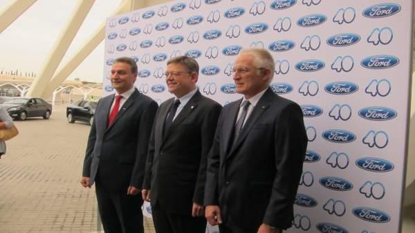 """Alonso (Ford) assegura que la companyia estarà a Almussafes """"almenys altres 40 anys més"""""""