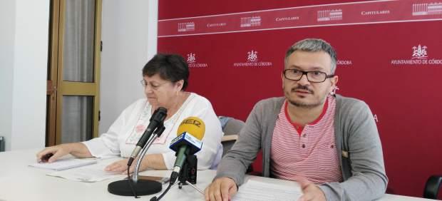 Alberto de los Ríos y María José Moruno