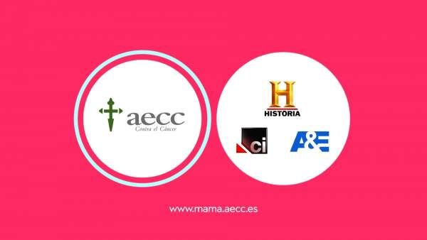Canal Historia, A&E y Crimen + Investigación se unen contra el cáncer de mama