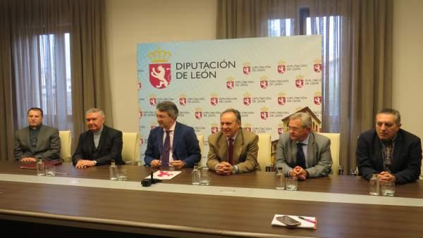 La Diputación De León Y El Obispado De Astorga Destinan 240.000 Euros Para La Re
