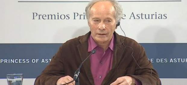 Richard Ford, en rueda de prensa.