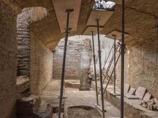 Hallada en Bombas Gens una bodega de finales del siglo XV