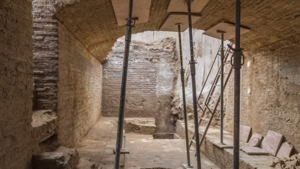 Troben durant unes obres en l'edifici de Bombas Gens un celler de finals del segle XV