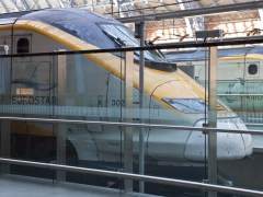 Suspendido el servicio del Eurostar