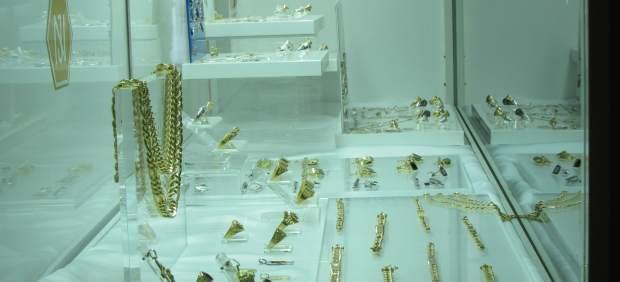 Un expositor de joyas cordobesas