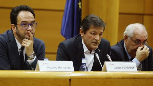 Reunión interparlamentaria socialista