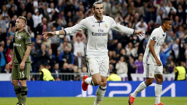 Gol de Bale al Legia