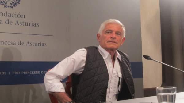 El galardonado James Nachtwey.