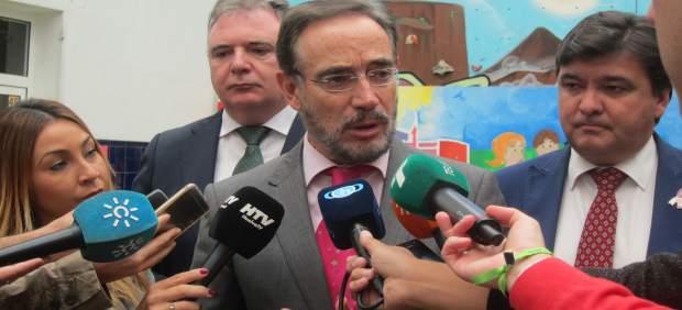El consejero de Fomento y Vivienda de la Junta de Andalucía, Felipe López.
