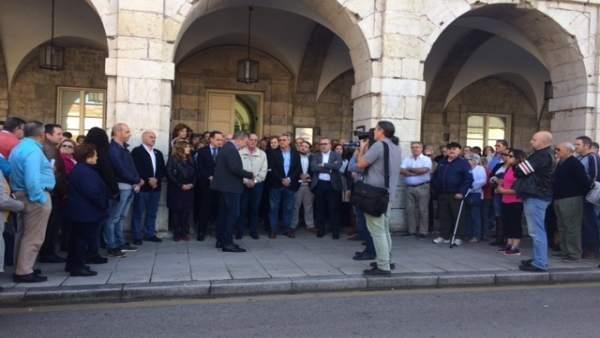 Concentración Guardia Civil