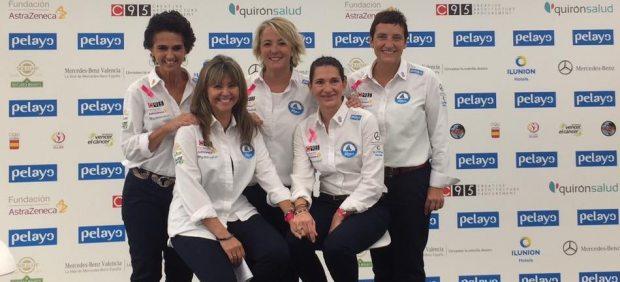 Las cinco mujeres que cruzarán el Atlántico