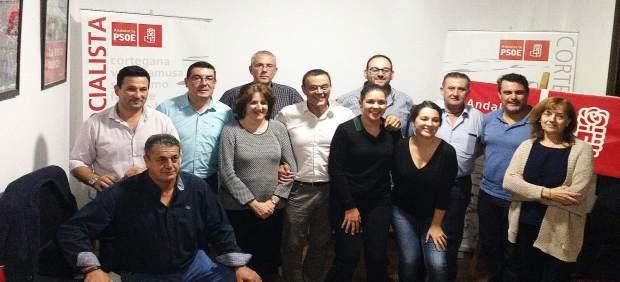 Ejecutiva local del PSOE de Cortegana