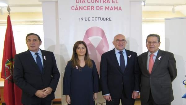 De izquierda a derecha, Sáez, Suárez, Carnero y Arroyo