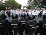 Ultras del Legia en el Bernabéu