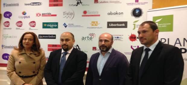 Inauguración del encuentro de jóvenes empresarios.