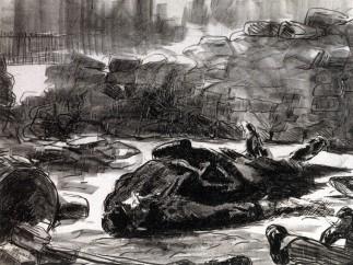 Édouard MANET, Guerre civile, 1871