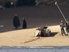 Tyrion Lannister y Davos ya ruedan 'Juego de Tronos' en Euskadi