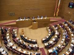 Pleno de las corts Valencianes