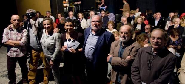 Presentación de los vólumenes con la obra teatral de Cuende
